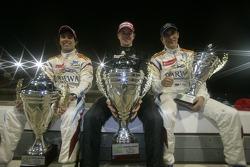 Winner Nico Hulkenberg, second place Sergio Perez, third place Vitaly Petrov