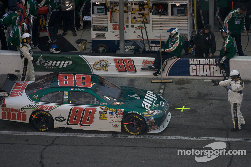 One lap penalty for Dale Earnhardt Jr., Hendrick Motorsports Chevrolet