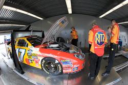 Car of Matt Kenseth at tech inspection