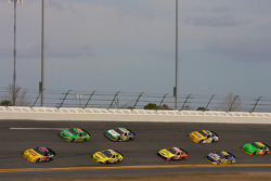 Scott Lagasse leads a group of cars