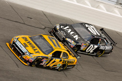 Matt Kenseth, Roush Fenway Racing Ford, Casey Mears, Richard Childress Racing Chevrolet