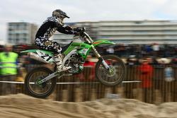 #21 Kawasaki Team Green Kawasaki 450 4T: Yves Deudon