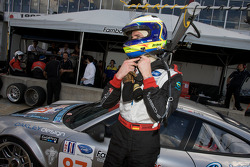 GT2 pole winner Dirk Werner