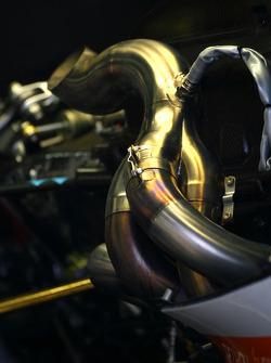 Renault F1 Team exhaust