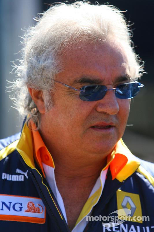Flavio Briatore, Renault F1, Teamchef