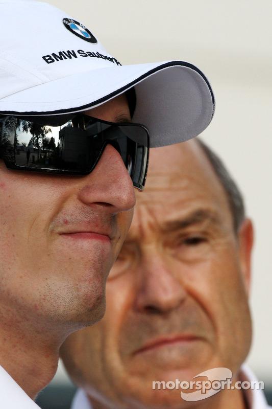 Robert Kubica,  BMW Sauber F1 Team, Peter Sauber, BMW Sauber F1 Team, Team Advisor
