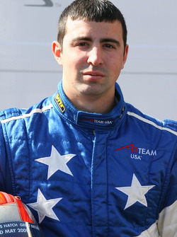 Robbie Pecorari, driver of A1 Team USA
