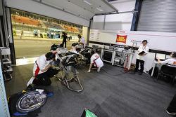 Team Gresini pit box