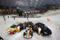 Renault F1 Roadshow Dubai