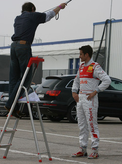 Photoshoot with Timo Scheider, Audi Sport Team Abt Audi A4