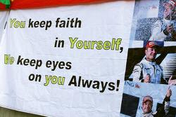Fan poster for Rubens Barrichello, Brawn GP