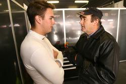 Greg Mansell with dad Nigel