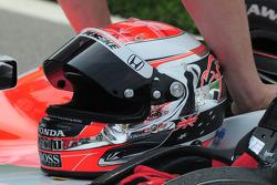 Ryan Briscoe's, Penske Racing helmet