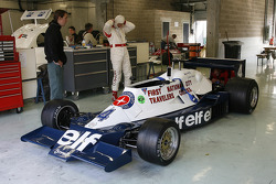 #4 Hubertus Bahlsen (CH) Tyrrell 008 (formerly driven by Didier Pironi, 1978)