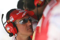 Michael Schumacher, Test Driver and advisor, Scuderia Ferrari