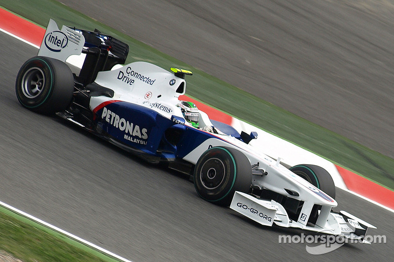 2009: Nick Heidfeld, BMW Sauber F1 Team F1.09