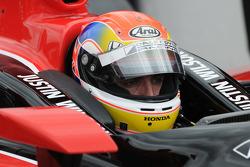 Justin Wilson, Dale Coyne Racing in deep focus