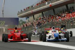 Jack Harvey, Fortec Motorsport and David Mengesdorf, Eifelland Racing
