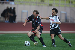 Star Team vs Nazionale Piloti, Charity Football Match, Monaco, Stade Louis II: Felipe Massa, Scuderia Ferrari