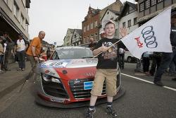 A young Audi fan