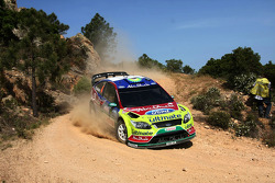 Jari-Matti Latvala and Miikka Anttila, BP Ford Abu Dhabi World Rally Team, Ford Focus RS WRC