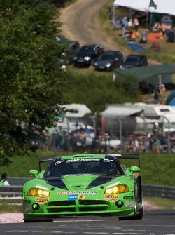 #21 Vulkan Racing-Team Mintgen Motorsport Dodge Viper GT3: Dirk Riebensahm, Christian Kohlhaas