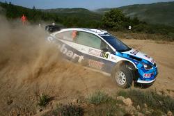 Matthew Wilson and Scott Martin, Stobart VK M-Sport Ford World Rally Team, Ford Focus RS WRC