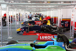 Cars in the garage