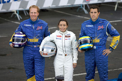 #4 Creation Autosportif Creation Judd: Jamie Campbell-Walter, Vanina Ickx, Romain Iannetta