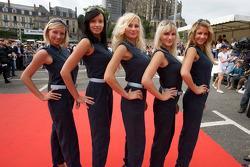 The lovely Aston Martin girls
