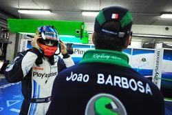 Benoit Tréluyer and Joao Barbosa