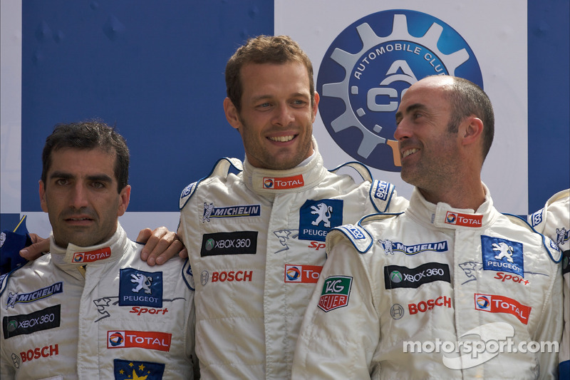 2009: Marc Gene, Alexander Wurz, David Brabham