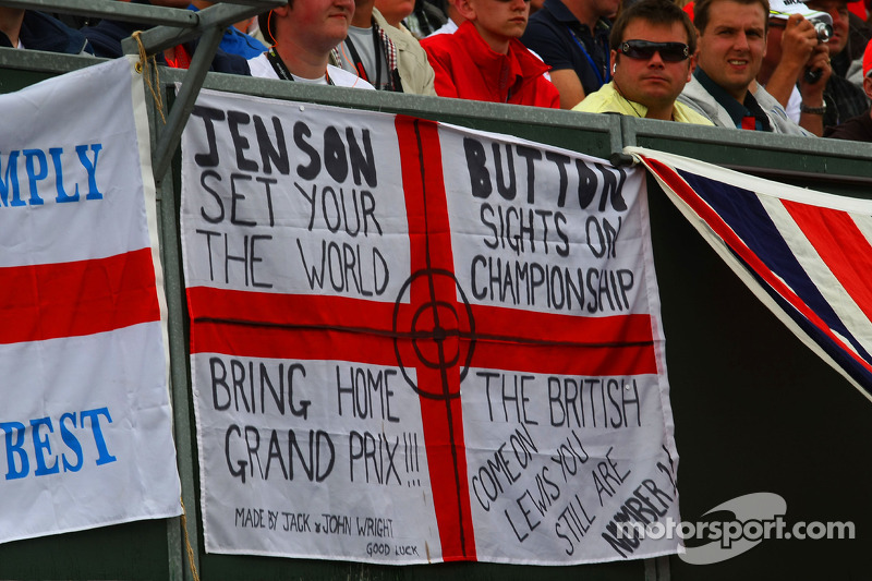 Fan poster of Jenson Button, Brawn GP