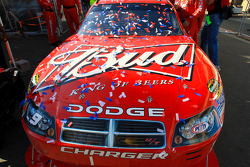 Victory lane: the winning car