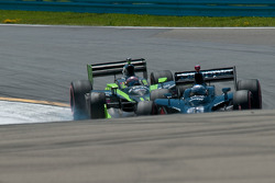 Marco Andretti, Andretti Green Racing and Ernesto Viso, HVM Racing