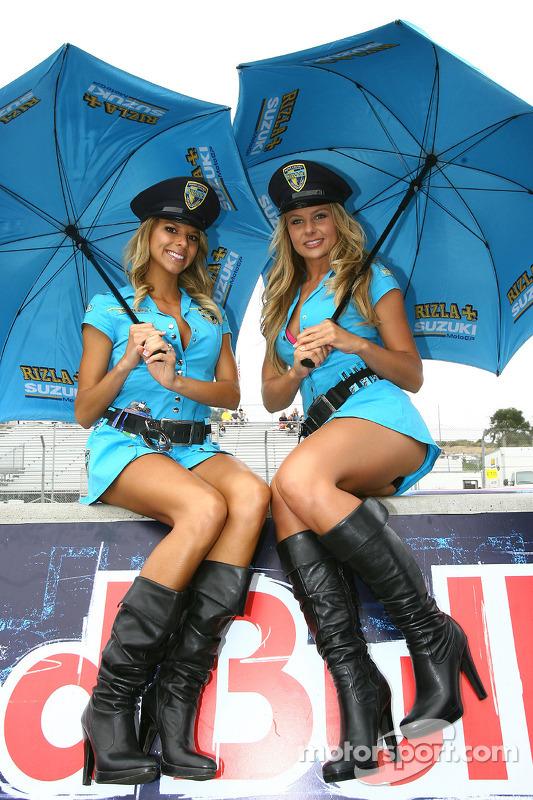 Las chicas Rizla Suzuki MotoGP