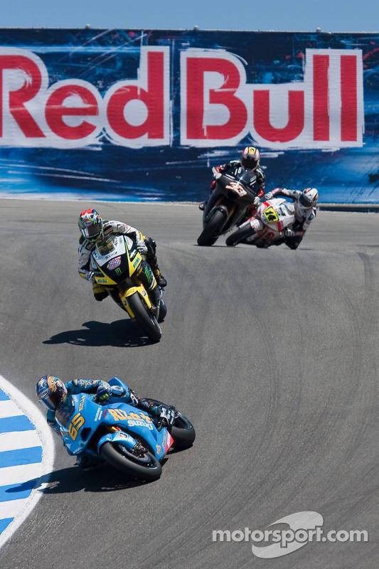 Loris Capirossi, Rizla Suzuki MotoGP, Colin Edwards, Monster Yamaha Tech 3, Marco Melandri, Hayate Racing Team