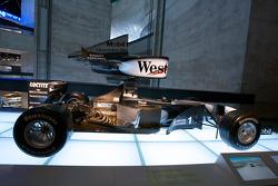 Silver arrows: 1999 McLaren-Mercedes MP4-14 Formula One racing car