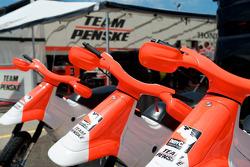 Penske Racing paddock