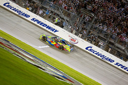 Race winner Mark Martin, Hendrick Motorsports Chevrolet celebrates