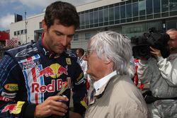 Mark Webber, Red Bull Racing y Bernie Ecclestone
