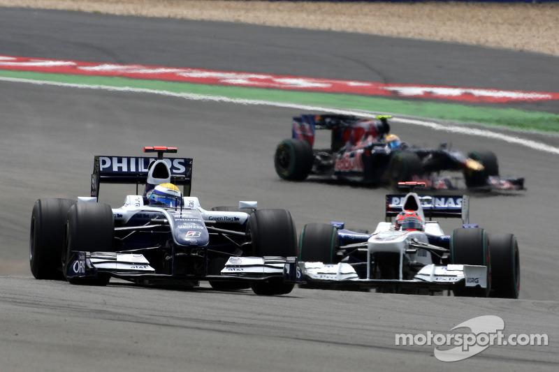 2009: Saison ohne Podestplatz und Abschied von Williams