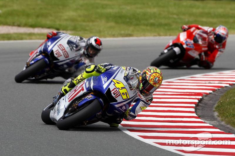 GP de Alemania 2009 - Victoria de Rossi por delante de Lorenzo