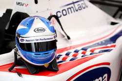 The helmet of Jolyon Palmer