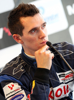 Mikhail Aleshin, finished third in race 2
