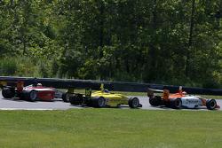 Jonathan Summerton, Newman Wachs Racing, Tonis Kasemets, Polestar Motor Racing and Markus Niemela, Jensen MotorSport