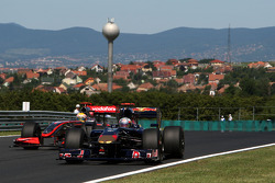 Хайме Альгерсуари, Scuderia Toro Rosso и Льюис Хэмилтон, McLaren Mercedes