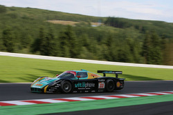 #33 Vitaphone Racing Team DHL Maserati MC 12: Alessandro Pier Guidi, Stéphane Lemeret, Carl Rosenblad, Vincent Vosse