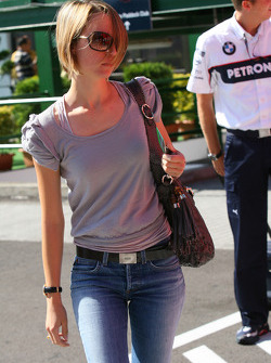 Patricia Papen, GER, Girl Friend, wife of Nick Heidfeld