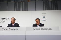 Dr. Klaus Draeger (head, development), Dr. Mario Theissen